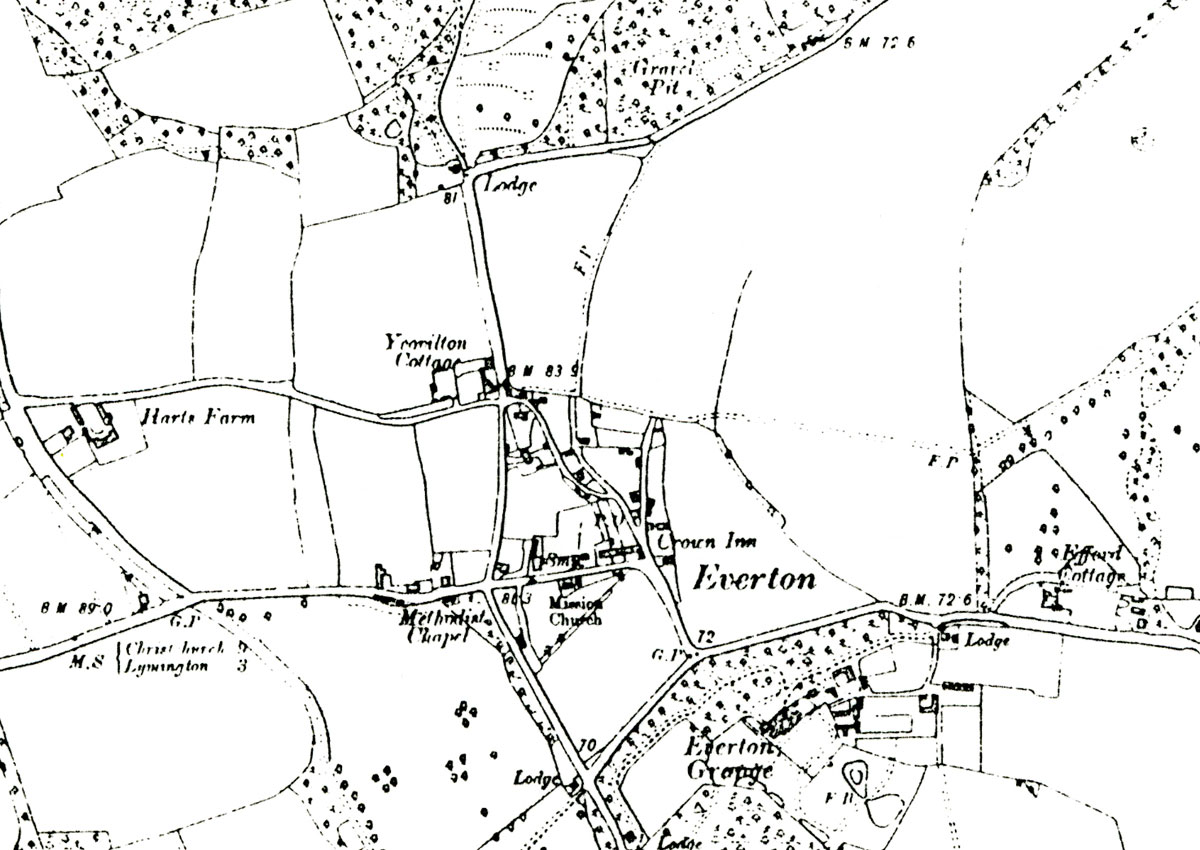 Everton Map 1909