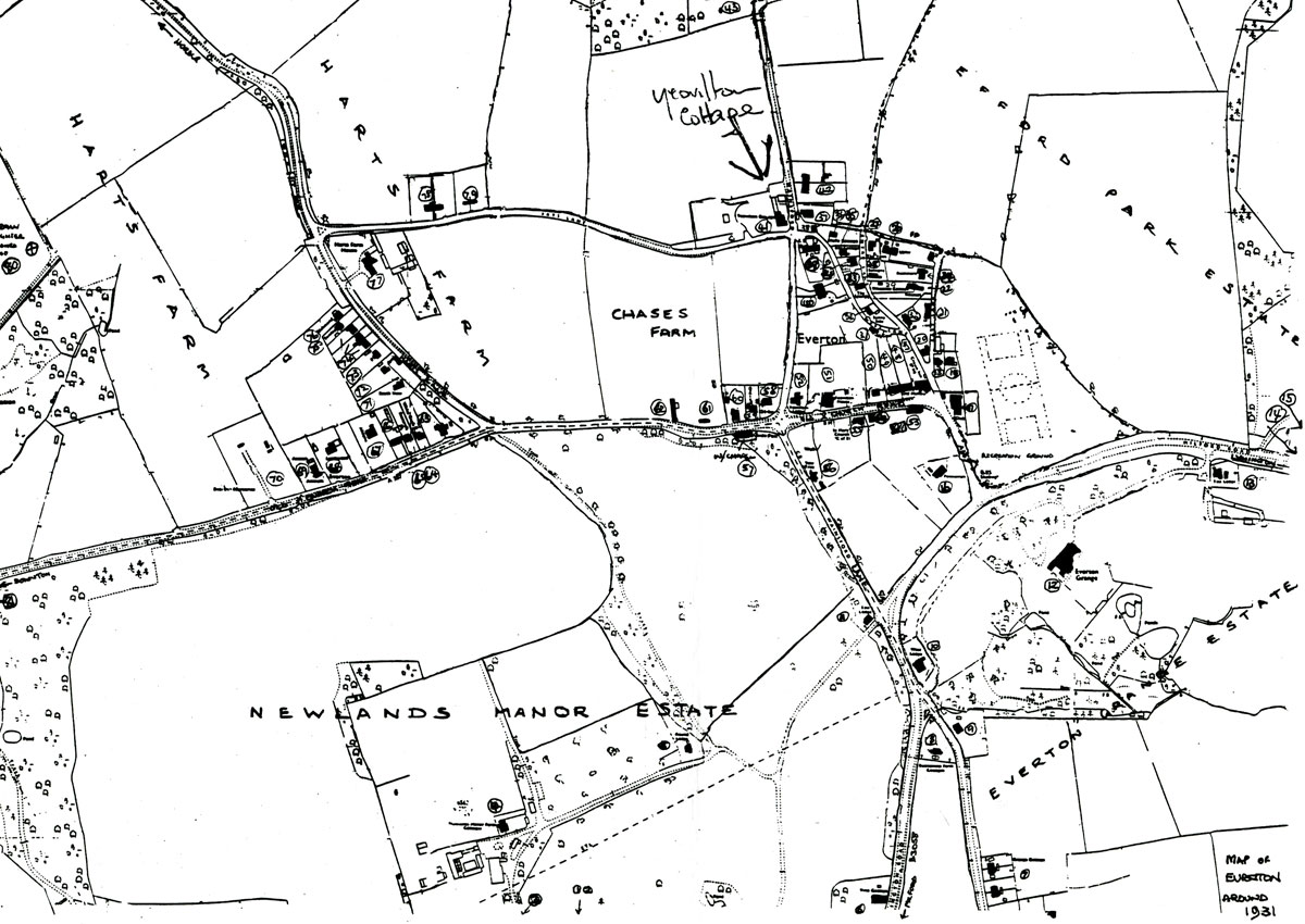 Everton Map 1931