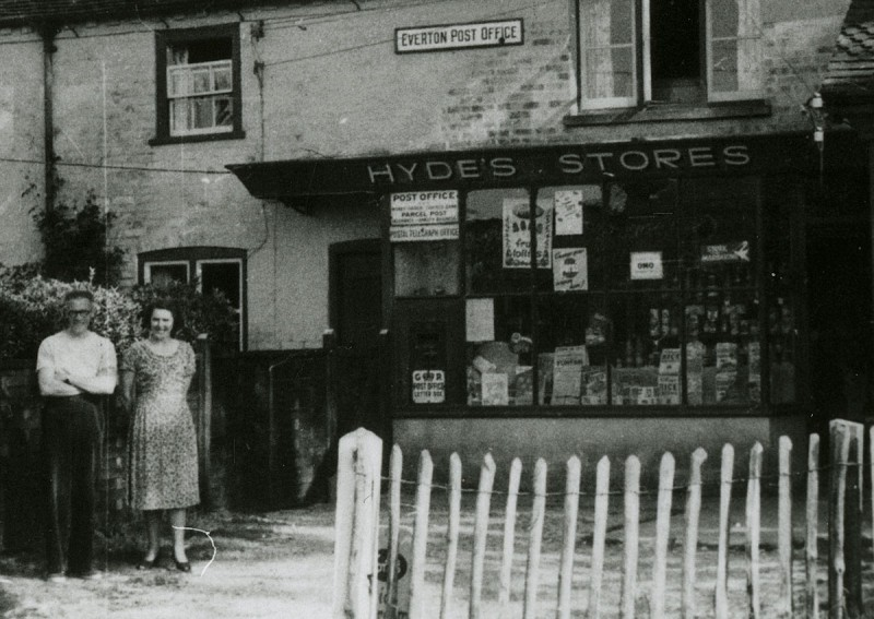 Everton Post Office and Stores, 1949 (courtesy Gill Rowlands)