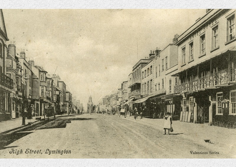 Lymington High Street Early 1900s