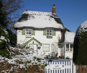 Swan Cottage, the oldest house in the village
