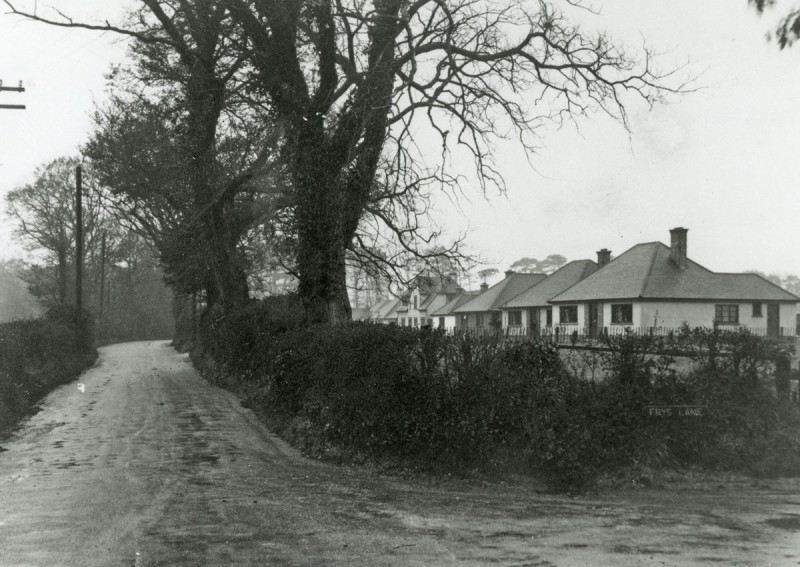 Wainsford Road and Frys Lane Looking South 1939