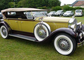 Vintage car display at Everton Arts Festival