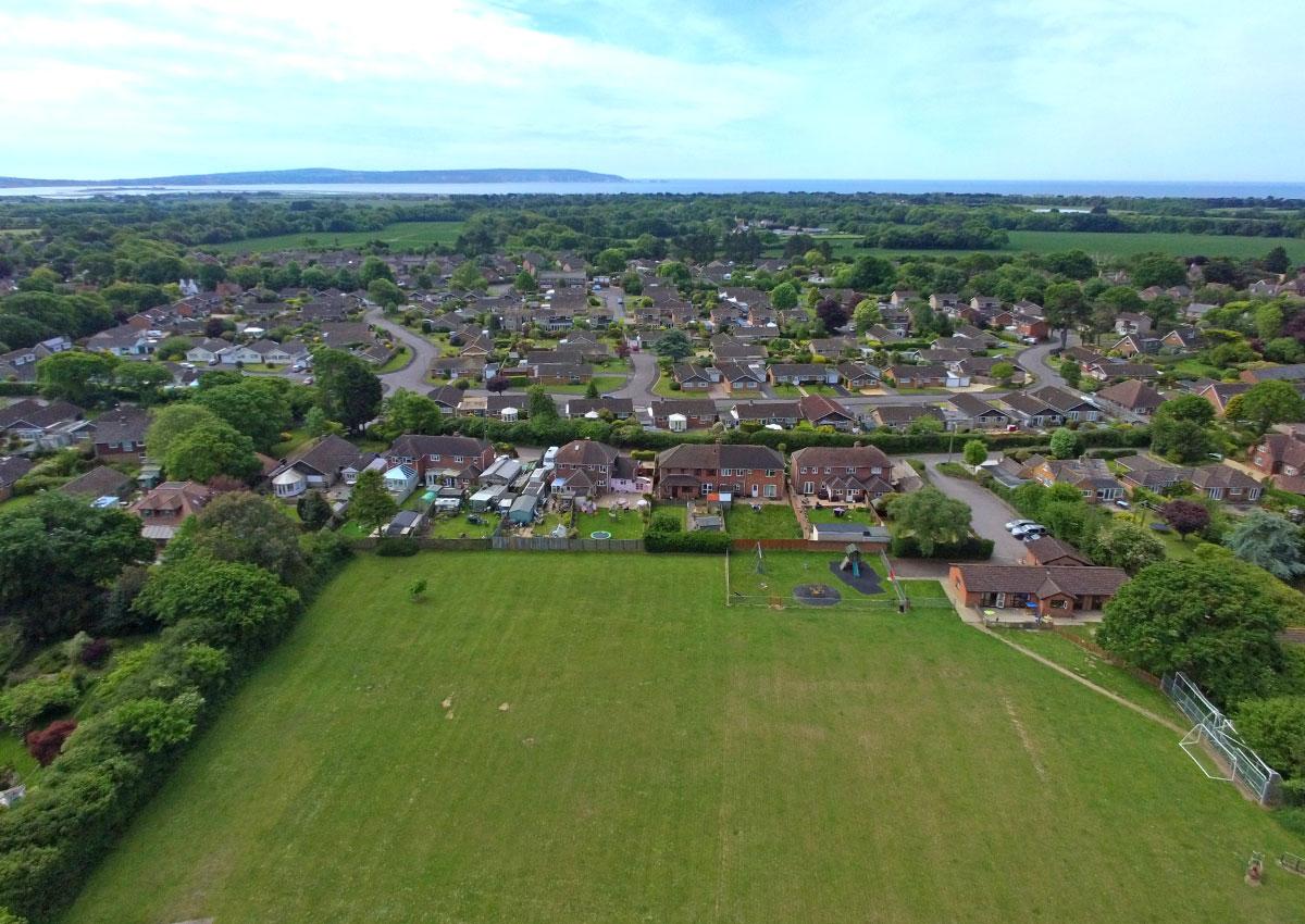 Everton Recreation Ground overlooking Fry's Lane
