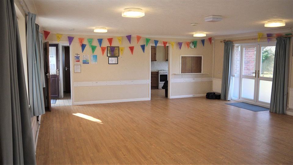 Everton Pavilion Interior