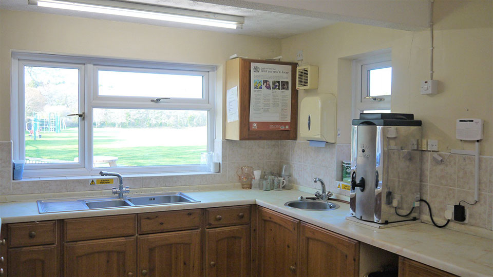 Everton Pavilion Kitchen